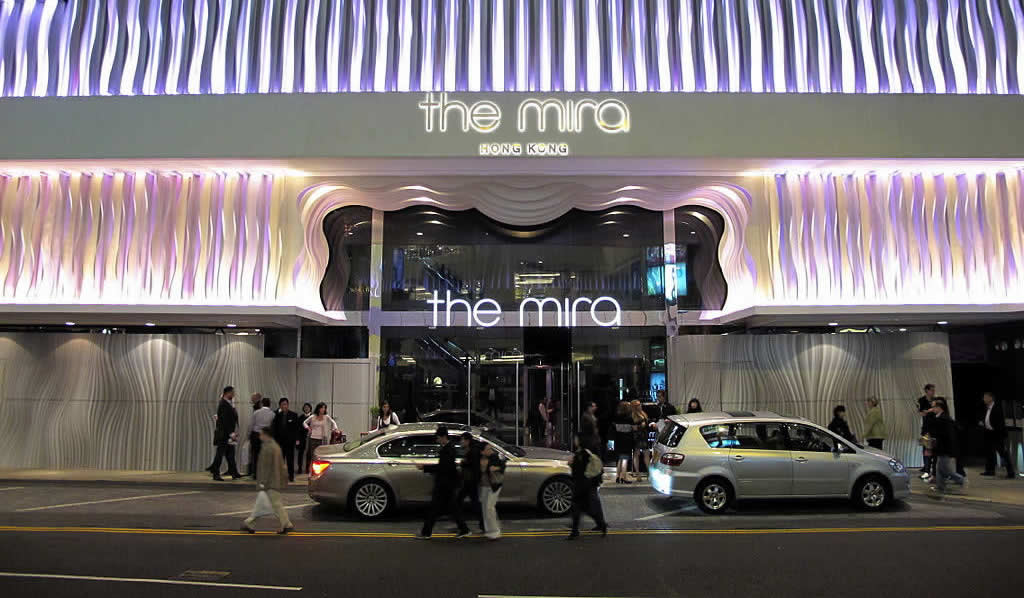 The Mira Hong Kong Hotel entrance