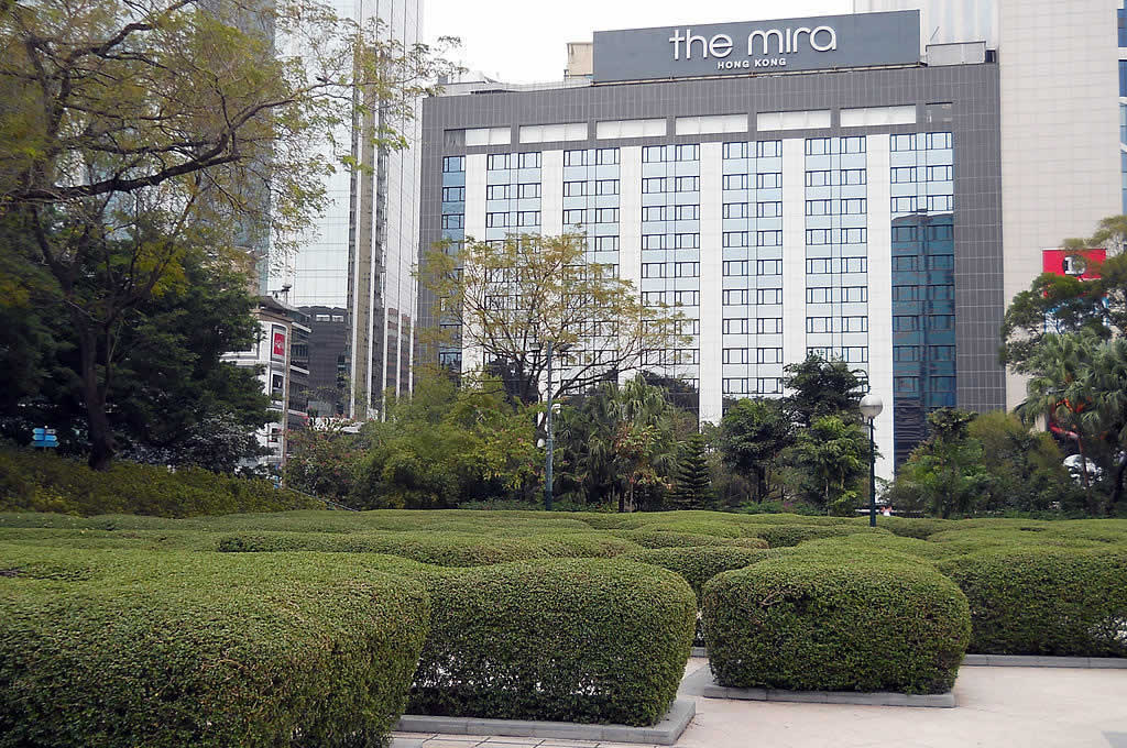 The Mira Hong Kong Hotel with Maze Garden