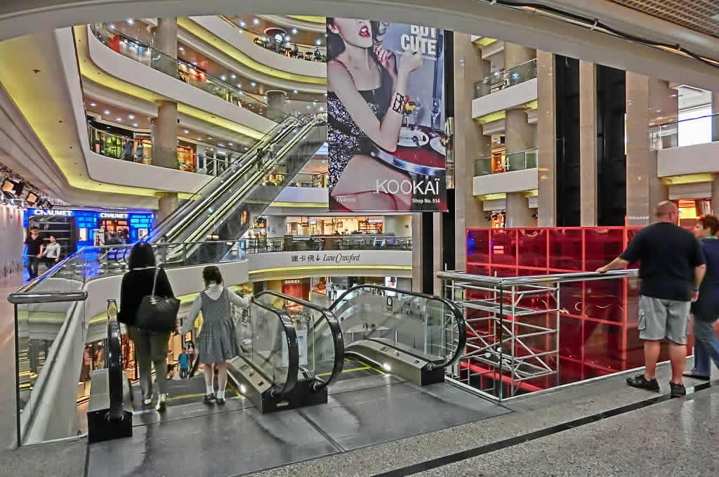 Times Square Shopping Mall Interior