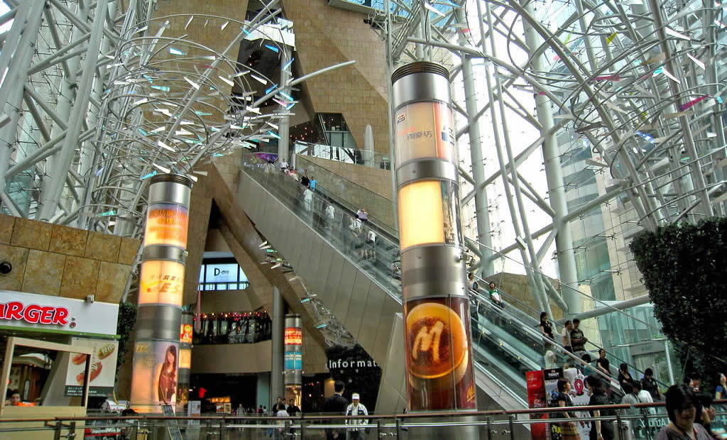 Langham Place Shopping Mall Xpresscalators