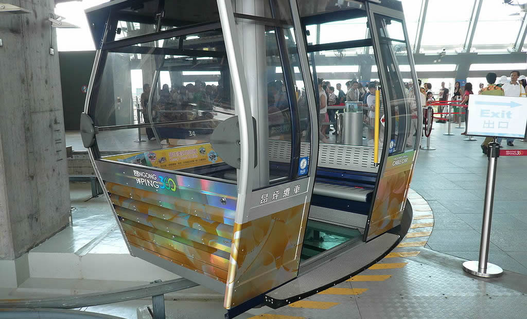 Ngong Ping 360 Crystal Cabin Cable Car